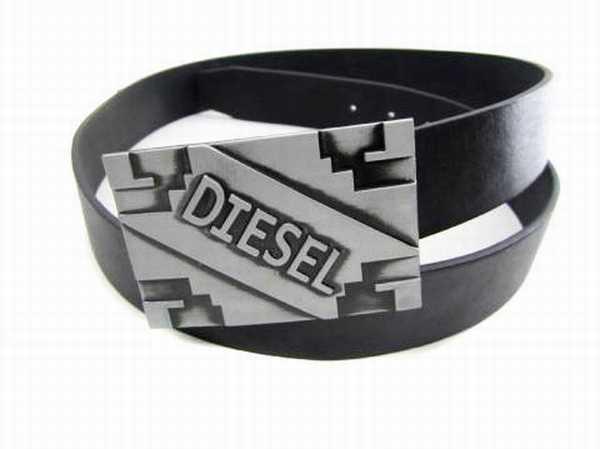 ceinture diesel pour homme ceinture diesel neuve ceinture homme cuir noir diesel. Black Bedroom Furniture Sets. Home Design Ideas