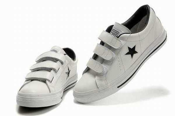 chaussures converse cuir
