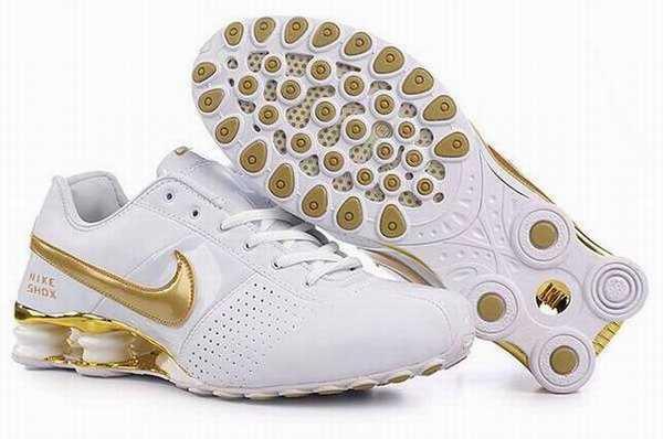 Nike Shox Rivalry Blanc Et Rouge